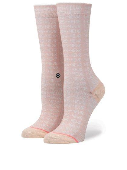 Růžové dámské vzorované ponožky Stance Bling-Bling