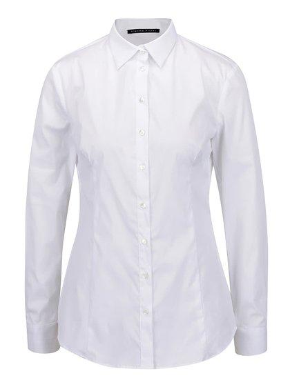 Bílá dámská košile s dlouhým rukávem Pietro Filipi
