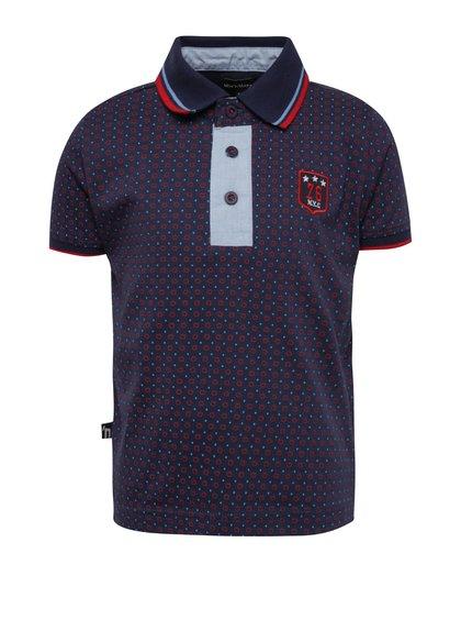 Tmavě modré chlapecké polo triko Mix´n Match