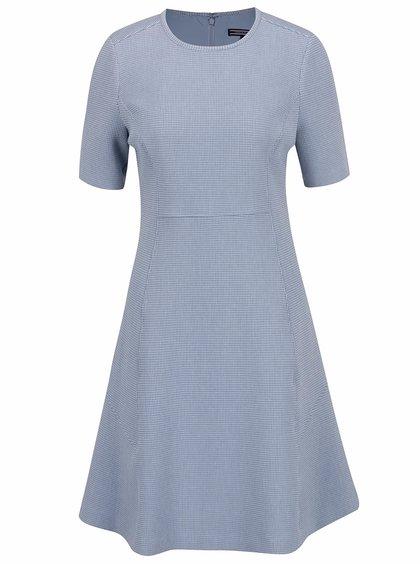 Modré šaty s jemným vzorem Tommy Hilfiger