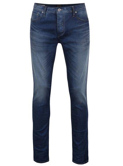 Pantaloni albaștri  Jack & Jones Tim Original din denim