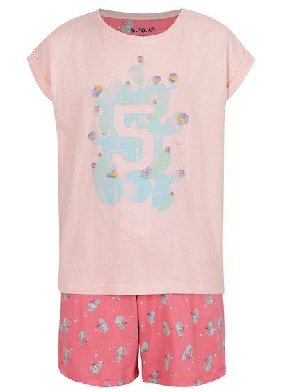 Pijama portocalie 5.10.15. pentru fete