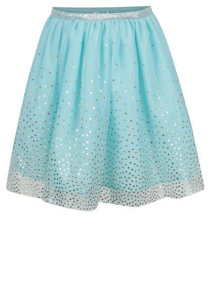 Modrá tylová sukně 5.10.15.