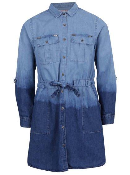 Rochie albastră 5.10.15. cu aspect de denim