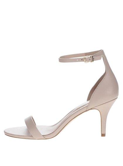 Sandale bej ALDO Zenavia din piele