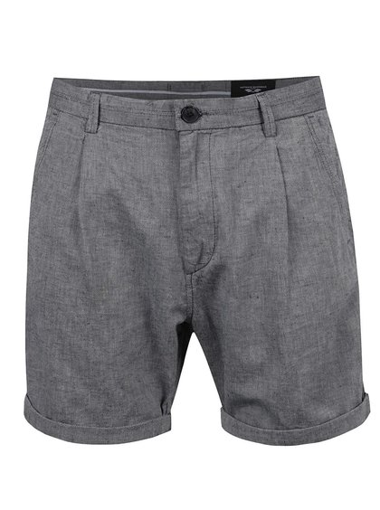 Pantaloni scurți gri melanj Selected Homme AB