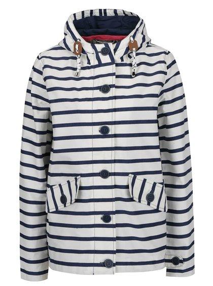 Jachetă crem&albastru Brakeburn cu model în dungi