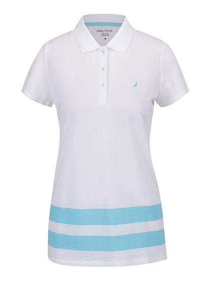 Modro-bílé dámské polo tričko Nautica