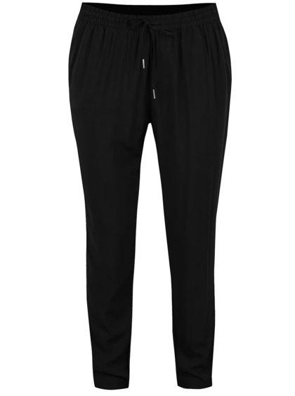 Pantaloni conici negri ONLY Nova