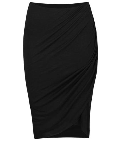Černá asymetrická sukně ONLY Melanie