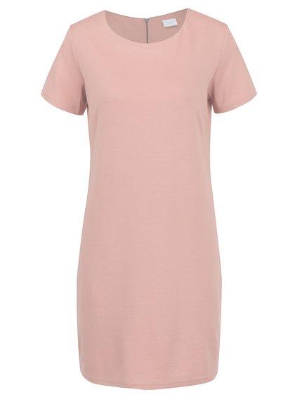 Rochie roz pudrat VILA Tinny