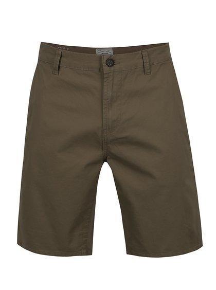 Pantaloni chino scurți verde închis ONLY & SONS Holm