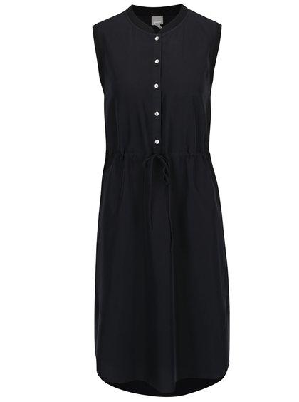 Černé šaty s knoflíky Bench