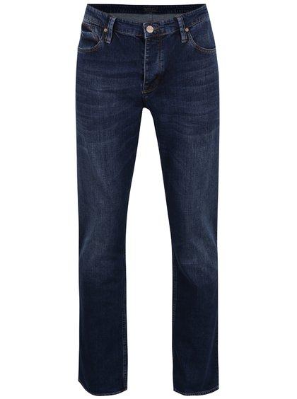 Blugi albastru închis Cross Jeans Dylan cu croi drept
