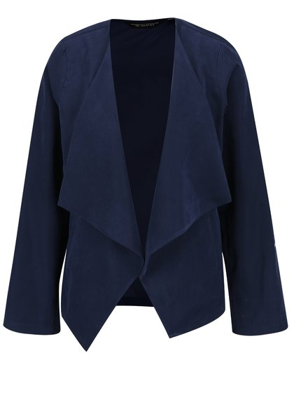Tmavě modré sako s cípy Dorothy Perkins