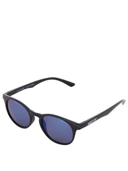 Černé dámské sluneční brýle Nectar Roundeye