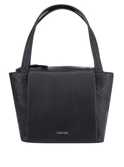 Černá kabelka se vzorem Calvin Klein Jeans Misha