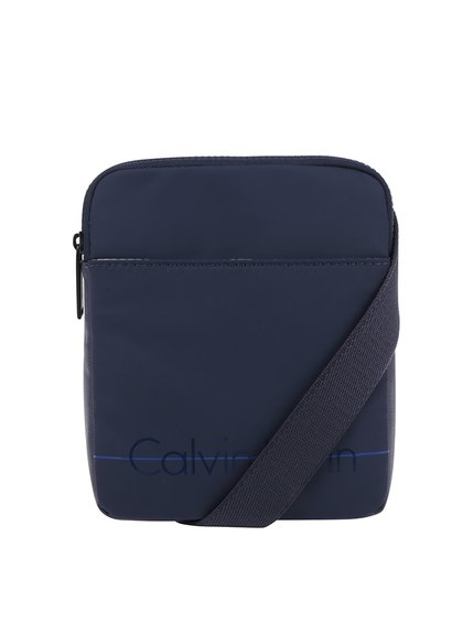 Modrá pánská malá crossbody taška s potiskem Calvin Klein Jeans Logan