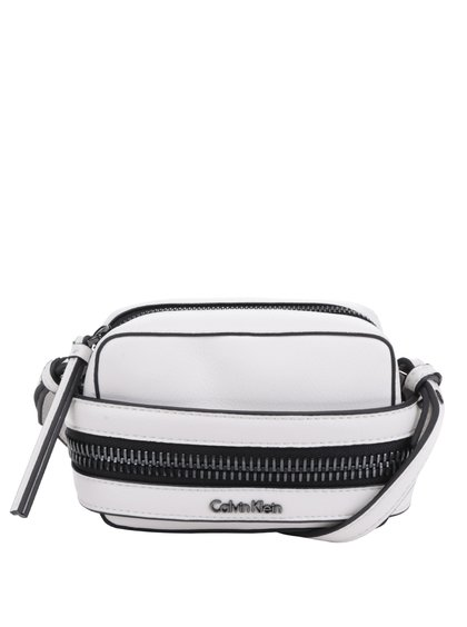 Krémová malá crossbody kabelka Calvin Klein Jeans Lucy