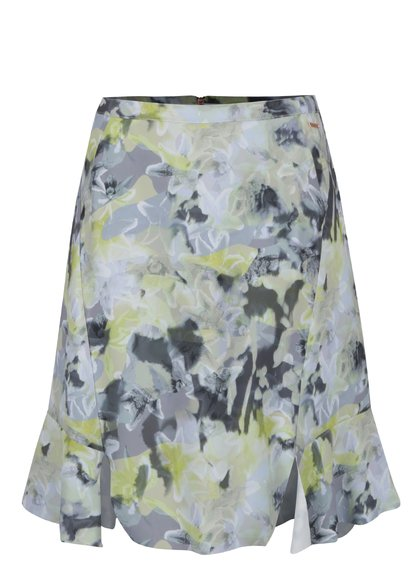 Zelená květovaná sukně Calvin Klein Jeans Kali