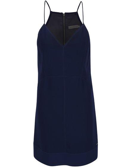 Tmavě modré šaty Calvin Klein Jeans Davina