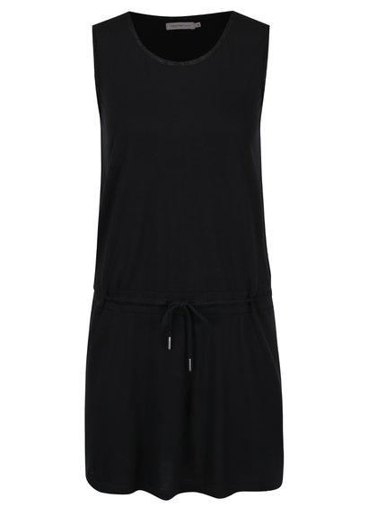 Černé pouzdrové šaty Calvin Klein Jeans Diabolo