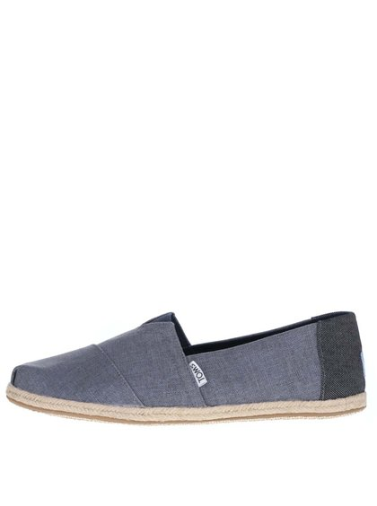 Tmavě modré pánské loafers TOMS