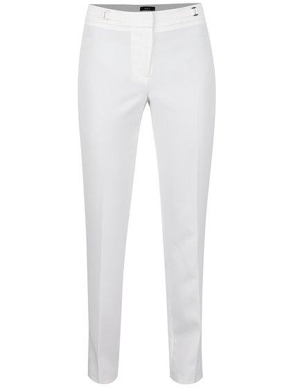 Krémové společenské kalhoty M&Co