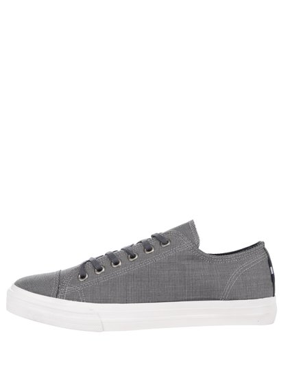 Pantofi sport gri Burton Menswear London cu model discret