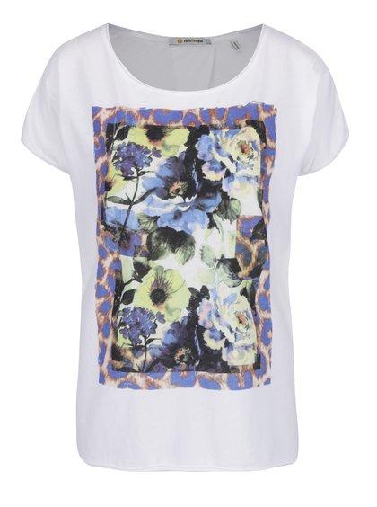 Bílé tričko s potiskem Rich & Royal