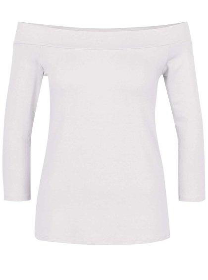 Bluză albă ZOOT cu decolteu pe umeri