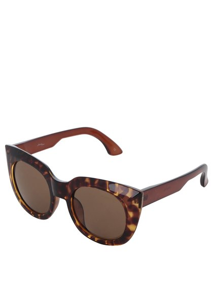 Hnědé vzorované brýle Jeepers Peepers