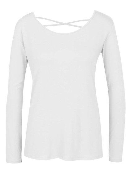 Bluză albă ZOOT cu șiret încrucișat la spate