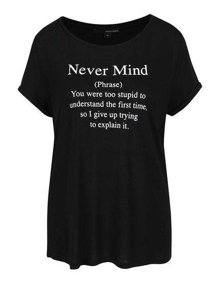 Černé tričko s potiskem TALLY WEiJL