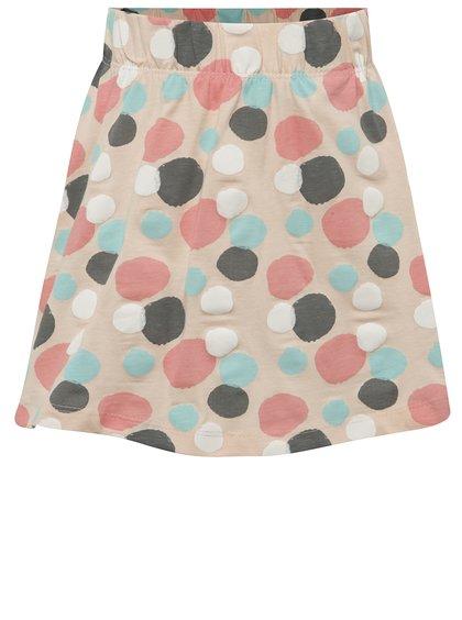 Béžová holčičí sukně s puntíky name it Viggakira