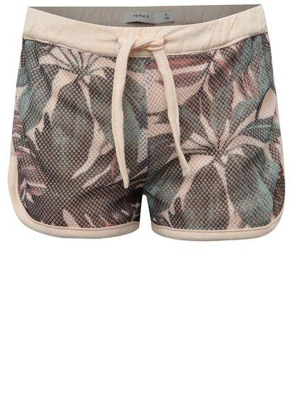 Pantaloni scurți verde & roz pal name it Jamesh pentru fete