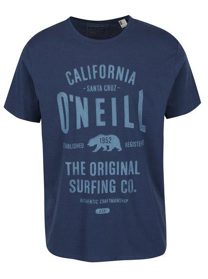 Modré pánské triko s potiskem O'Neill