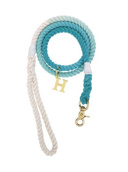 Světle modré vodítko pro středně velké psy Hound 12 mm