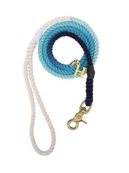 Bílo-modré vodítko pro malé psy Hound 8 mm
