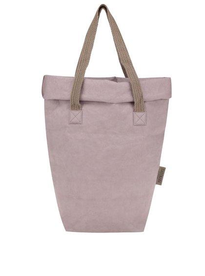 Světle růžová taška s dvěma popruhy UASHMAMA® Carry Two