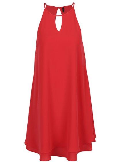 Červené volné šaty ONLY Mariana
