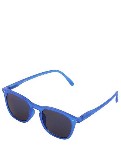 Modré unisex sluneční brýle s černomodrými skly IZIPIZI #E