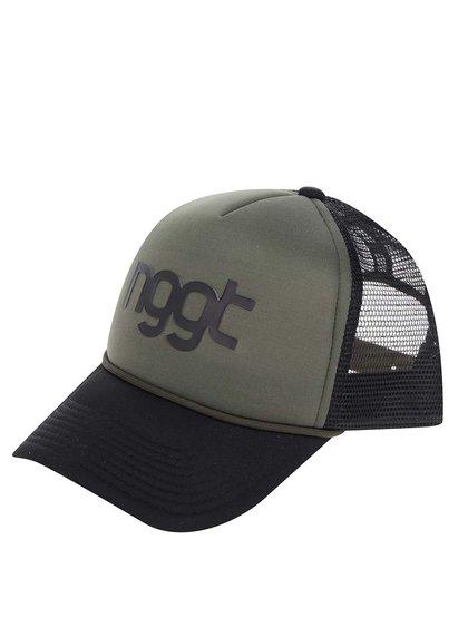 Șapcă negru & kaki NUGGET Aperture pentru bărbați