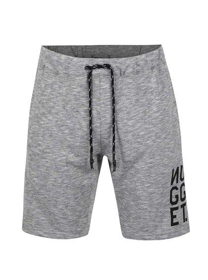 Pantaloni scurți sport gri NUGGET Tool