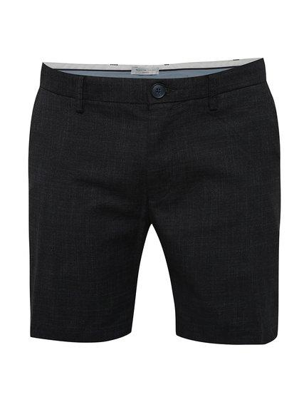 Pantaloni scurți chino negri Selected Homme Dmathi