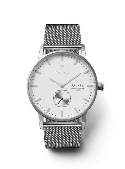 Unisex hodinky ve stříbrné barvě TRIWA Ivory Falken