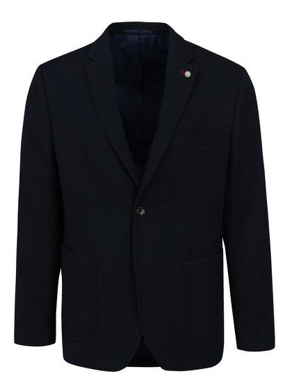 Tmavě modré sako s kapsami Burton Menswear London