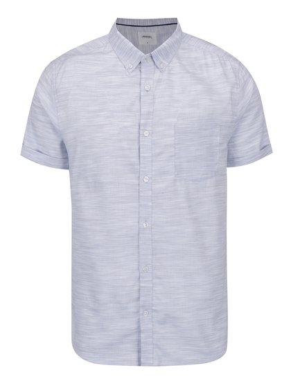 Světle modrá žíhaná košile Burton Menswear London