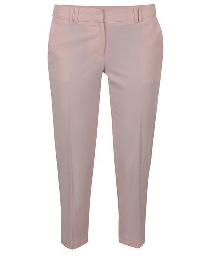 Světle růžové kalhoty Dorothy Perkins Petite