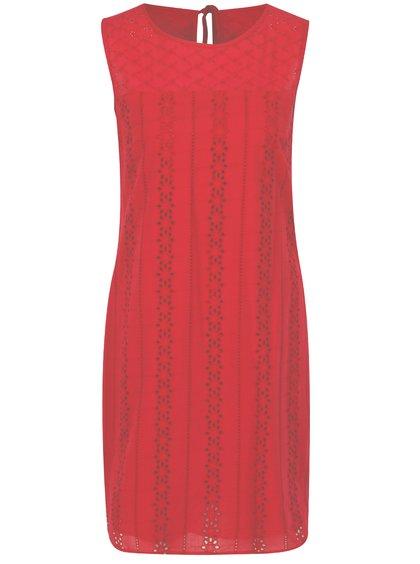 Tmavě růžové šaty z madeiry Dorothy Perkins